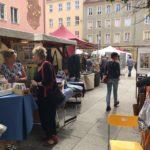 Impressionen vom 5. KunstGenuss-Markt in Cottbus