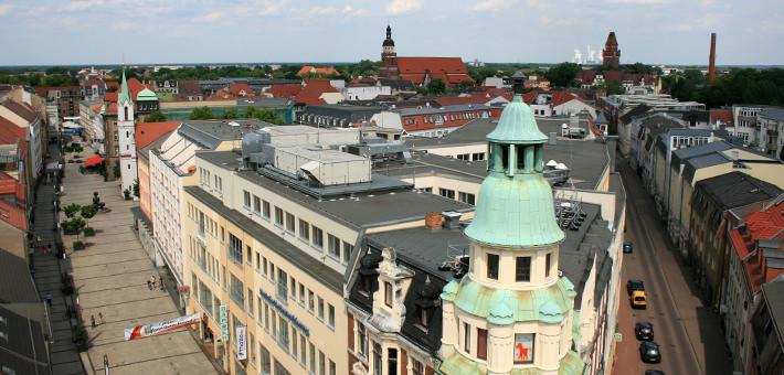 Blick auf die Spremberger Straße - Cottbuser Altstadtverein e.V.
